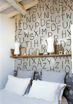 letters indoors