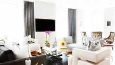 Step Inside a Lady's Stylish Urban Apartment via @domainehome
