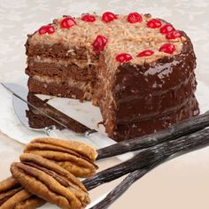 German Chocolate Cak