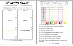 Lots of free printables to use with the colors Goldfish.  Would fit well with a Dr. Seuss Theme -One Fish, Two Fish, Red Fish, Blue Fish.