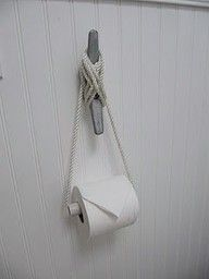 simply darling designs: Lake House Decor. I could see using cleats for curtain tie backs also