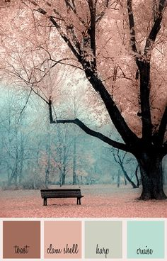 Romantic Color Story