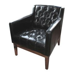 Post Modern Leather Chair now featured on Fab.