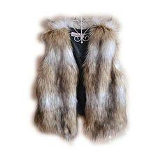Etosell Lady Winter Sleeveless Coat Waistcoat Warm Faux Fur Short Vest Jacket - List price: $19.89 Price: $14.38