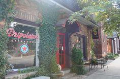 little coffee shop in Black Mountain NC