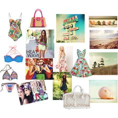 Summer Time ♥, created by fashion2religion on Polyvore