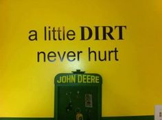 If we have a boy it will be a john deer room just like my cousin had