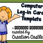 If you are looking for a new and easy way to store student computer log-in information, try using these cards. Fill out the student information usi...