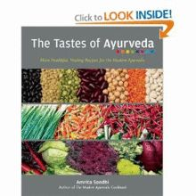 Join Amrita Sondhi for a cooking demonstration, book signing and tasting of some special dishes from her newest cookbook, THE TASTES OF AYURVEDA, at Now We're Cookin' on November 8th. In her all-vegetarian cookbook, Amrita Sondhi provides new twists on traditional Ayurvedic recipes that are also inspired by the growing popularity of whole grains (quinoa, spelt, and barley) and raw foods. Tickets for this event are $55/each.