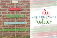 Ozarks Fare Grounds - DIY Christmas Card Holder.