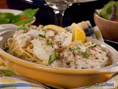 Fresh Catch Fish Scampi - Dinner in under 30 minutes!