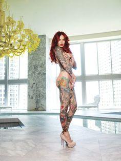 Lea Vendetta - Girls With Tattooes