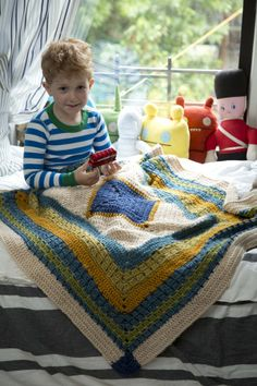 Image of Little Boy Blue Blanket