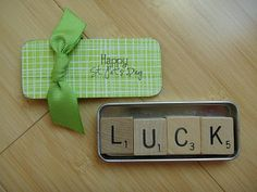 greenbean's crafterole: MAGNETS 'O LUCK