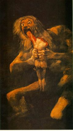 Saturn Eating His Children - Goya