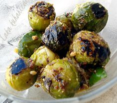 Crunchy Brussels sprouts Recipe:  Aromatic and healthy side-dish