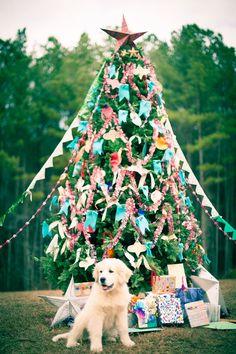 DIY Christmas Tree by Handmade Charlotte for Balsam Hill