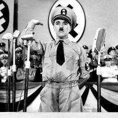 The Great Dictator--Charles Chaplin