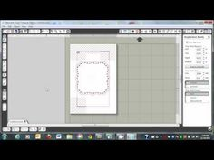 How to add Faux Stitching (in black & white!) to any Cameo or SVG File using the Print and Cut Feature