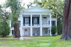 Oakleigh Historic Complex in Mobile, Alabama said to be haunted by a female and to have poltergeist activity, disembodied voices and shadow figures.