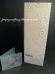 JeNjOy CrAfTiNg: Less is more 15, heat or dry emboss, one layer no2