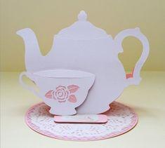 Teapot Easel Card