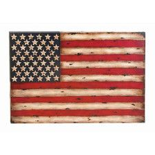 Toscana American Flag Replica Graphic Art