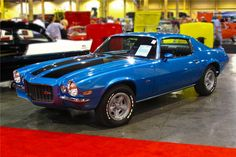 1970 Chevrolet Camaro Z28 ~ rare Mulsanne Blue