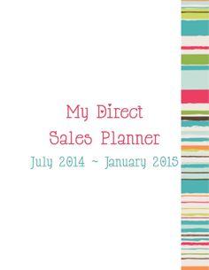 Direct Sales Planner 2014/2015