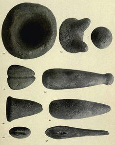 Klamath Modok Indian Tools