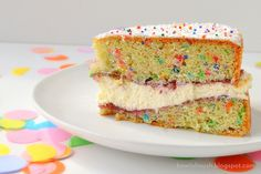 Victoria Sponge Birthday Cake by A Bowl Of Mush!