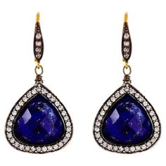 Check out this item at One Kings Lane! Pavé Teardrop Earrings