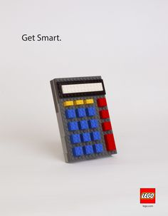 """Get Smart"" Lego Advertisement Created by Morgan Lynch"