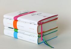 collection of graphic book jackets designed by Portugese studio, FBA