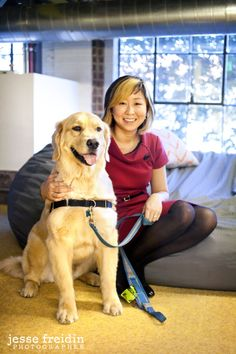 Pinterest: Dogs in the Workplace - I visited the Pinterest headquarters in San Francisco to interview staff about the benefits of a dog-friendly workplace.