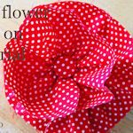 30+ Fabric Flowers to make (free tutorials)