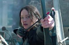 Finally, we see Katniss in action!