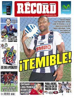 Monterrey 18 agosto del 2014 - RÉCORD