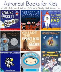 Astronaut Books for