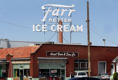 If you're ever in Ogden, Utah head to the Farr factory store -- ice cream doesn't get any better than Farr's!