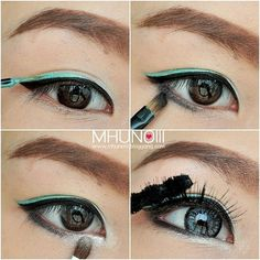 Double your eyeliner.   19 Awesome Eye Makeup Ideas For Asians