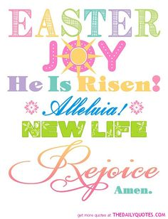 Happy Easter Quotes !
