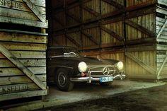 1960 Mercedes-Benz 190SL Roadster.