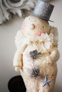 awww ...sweet winter snowman...