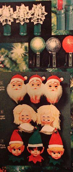 1970 Christmas catalog - decorations