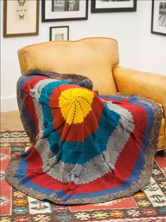 "Radiance Throw--""15 Free Cute Knitting Patterns for Every Season"" eBook free download 