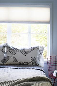 DIY Stamped Pillowca
