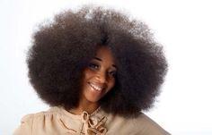 World largest Afro..