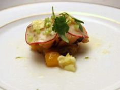 Richard Blais' Grilled Scallop with Mango and Pineapple Vinegar