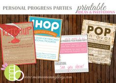 YW Personal Progress Party Ideas and Invites